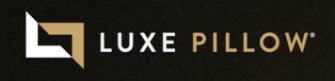 Luxe Pillow Logo