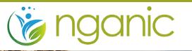 Nganic Logo