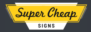 Super Cheap Signs Logo