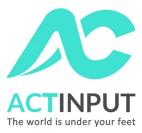 Actinput Logo