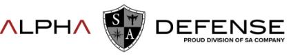 Alpha Defense Co. Logo