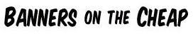 BannersOnTheCheap Logo