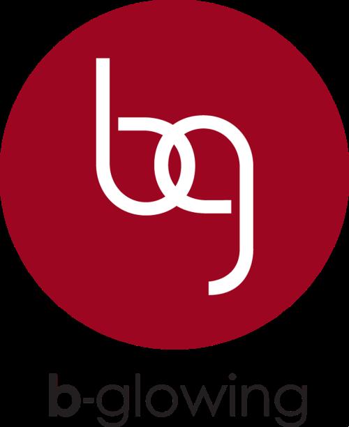 b-glowing Logo